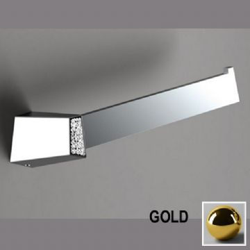 Sonia S8 Swarovski Open Towel Bar Gold 165063